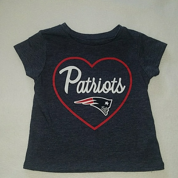 new style 5c2b4 a5470 Toddler New England Patriots Tee